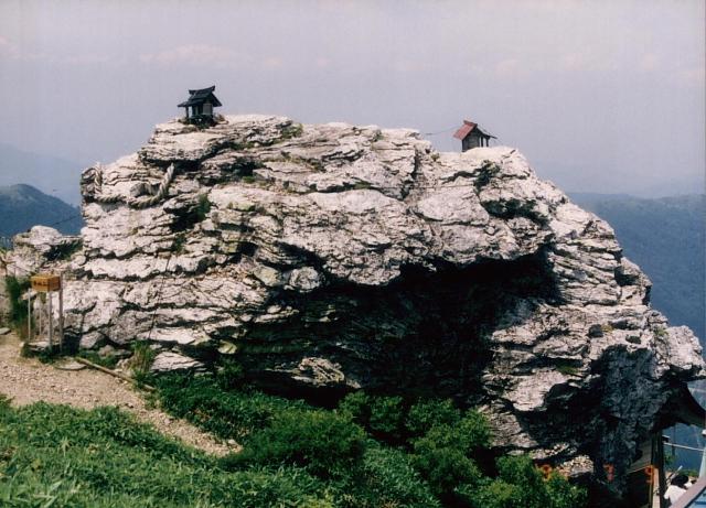 Tsurugi Jinja atop Mt. Tsurugi --