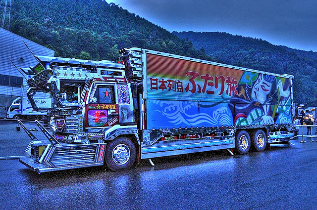 Japanese Gundam truck -- 