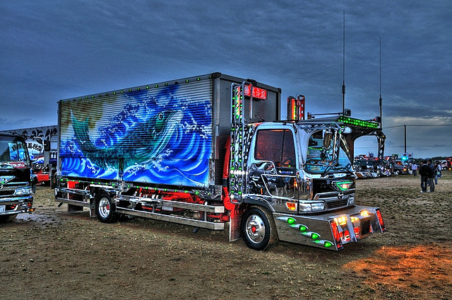 Custom Japanese trucks -- 