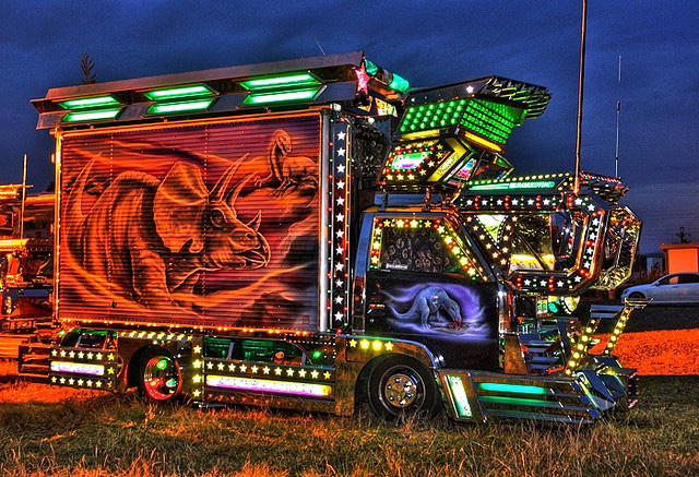 Decotora Japanese art truck --
