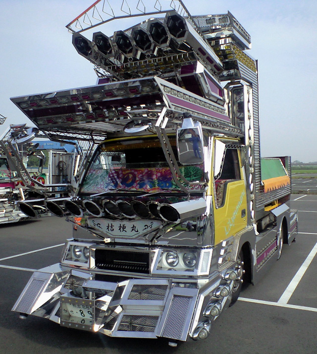 Deco-tora art truck from Japan -- 