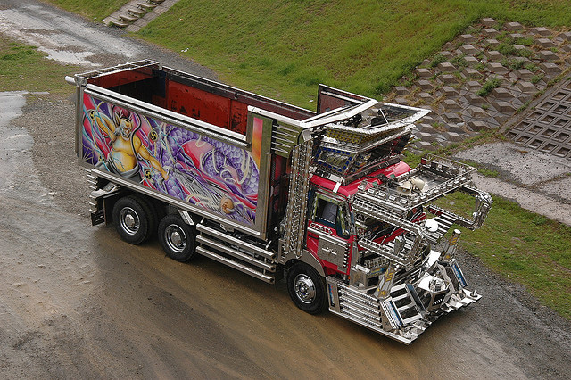 Custom trucks from Japan --