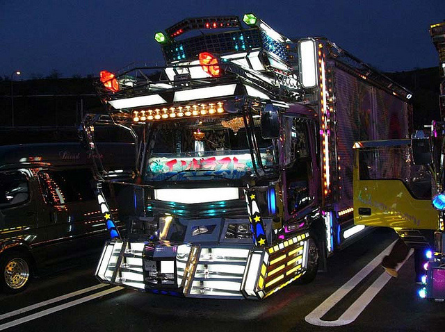 Customized Japanese truck --