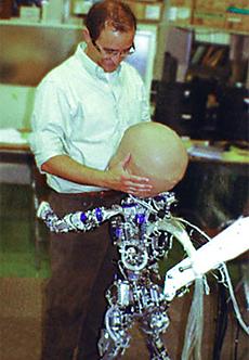 Diego-san baby robot --
