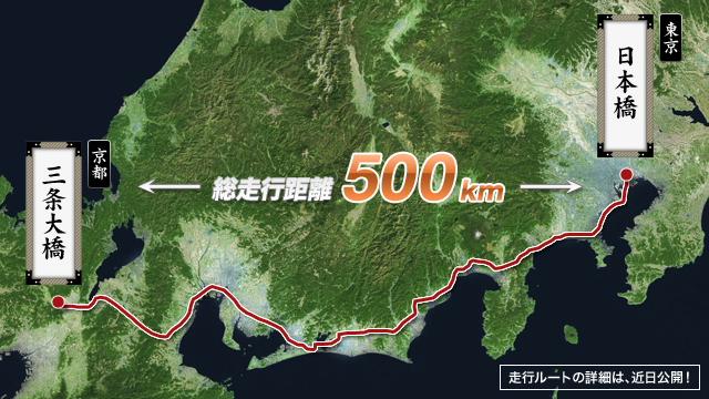 Tokaido route --