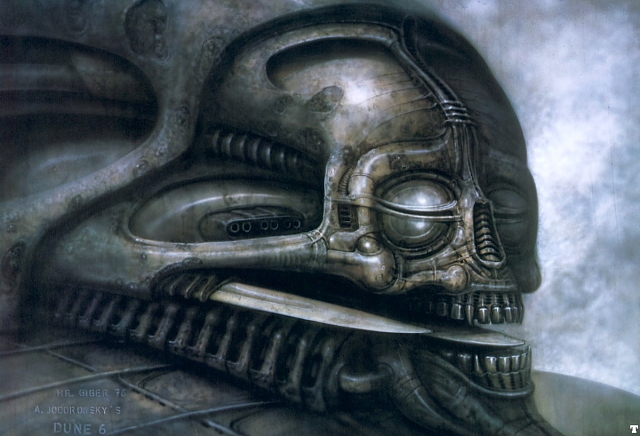 "Local Ork's Scratchbuild Extravaganza in ""Sculpting a lot more than usual"" - Page 3 Giger_dune_3"