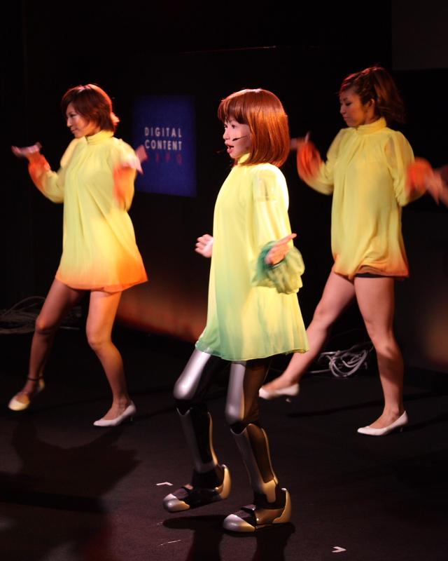 HRP-4C humanoid robot dance --