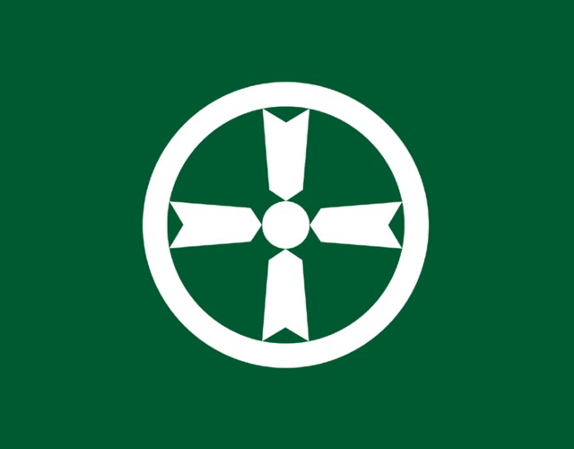 Kanji town icon, Japan -- 