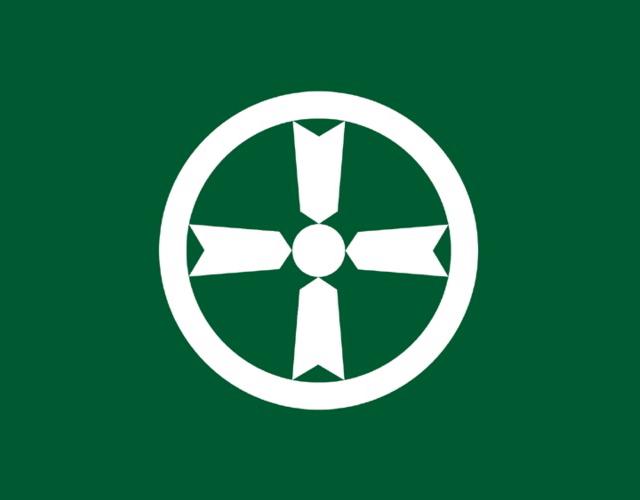 Kanji town icon, Japan --