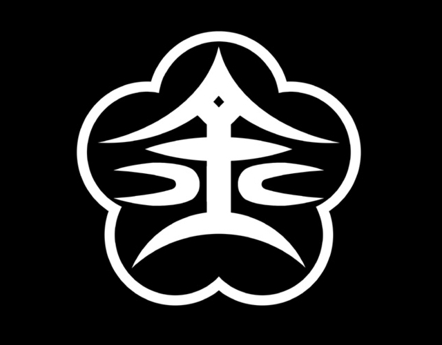 Kanji municipal symbol, Japan -- 