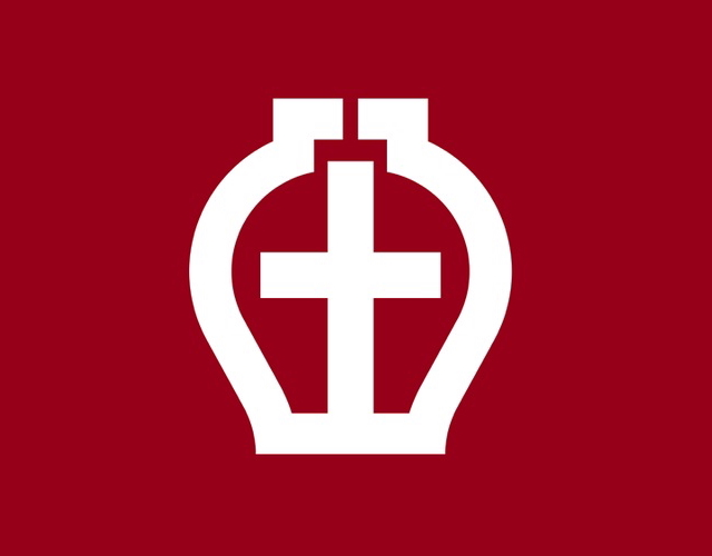 Kanji municipal icon, Japan --