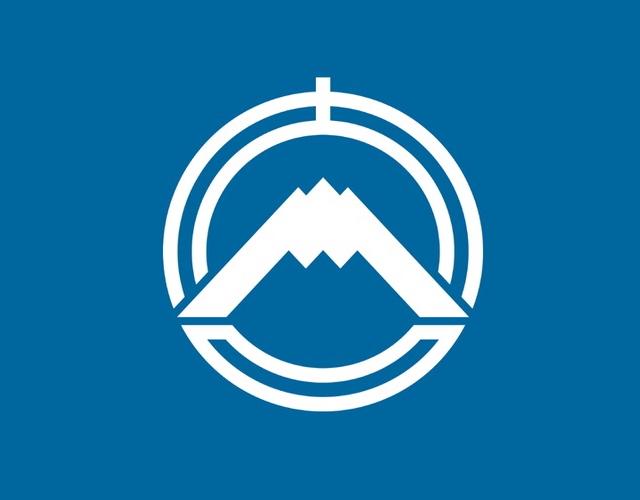 Kanji city badge, Japan --