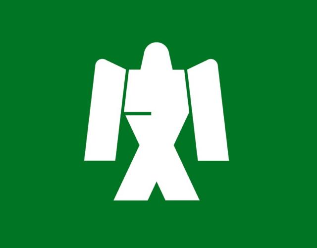 Kanji municipal emblem, Japan --