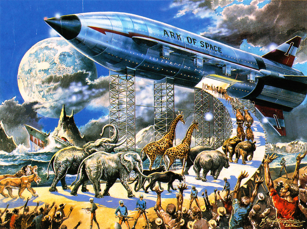 The Space Ark Illustration