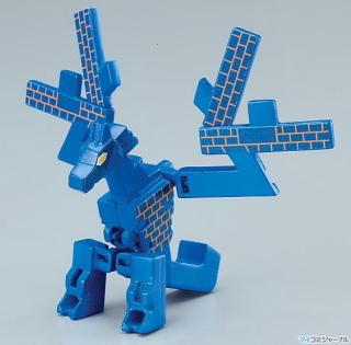 Ryū-bakeru moji-bakeru kanji-animal transformer --