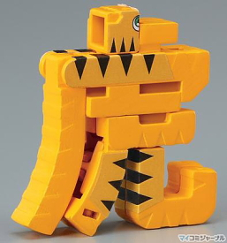 Tora-bakeru moji-bakeru kanji-animal transformer  -- 