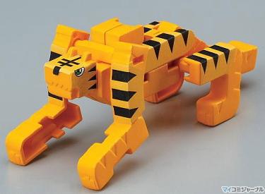 Tora-bakeru moji-bakeru kanji-animal transformer --