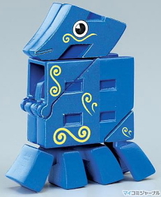 Uo-bakeru moji-bakeru kanji-animal transformer -- 