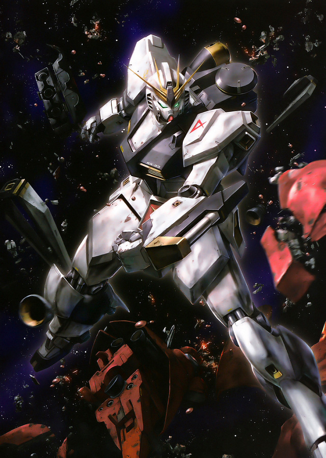 Mecha illustration by Naochika Morishita --