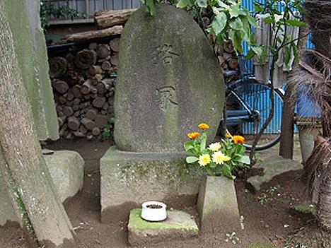 Mujinadzuka monument --