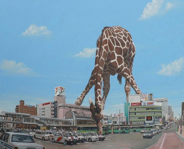 Painting by Shuichi Nakano --