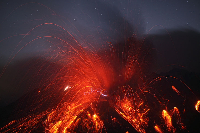 Sakurajima volcano, photo by Martin Rietze --