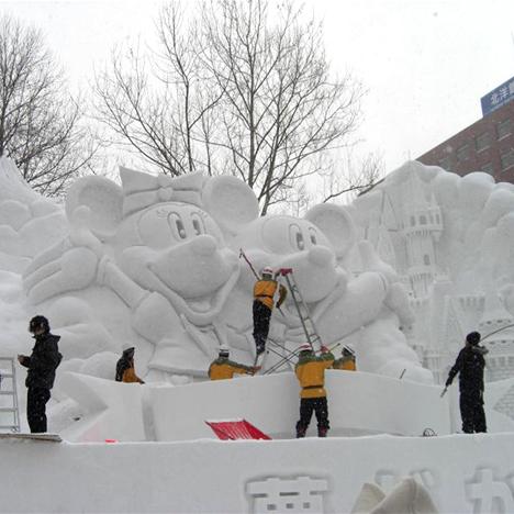 Sapporo Snow Festival 2010 --