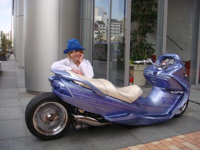 Japanese scooter modification --