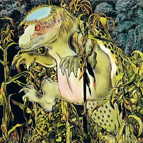 Suiko illustration from Shigeru Mizuki's Yokai Jiten --