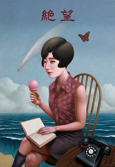 Paintings by Alex Gross --