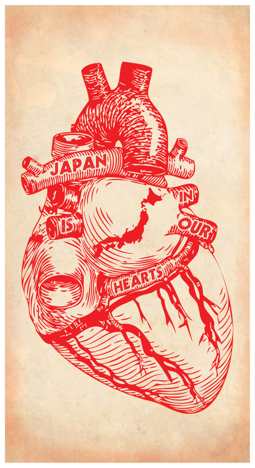 Japan Earthquake Relief Print --