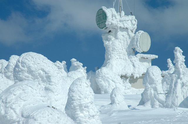 Snow monster --