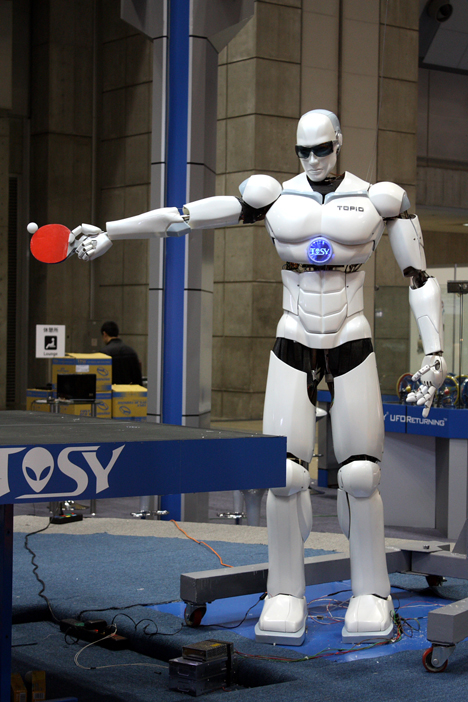 TOSY robot at iREX 2009 -- 