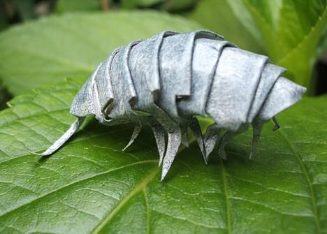 Весь блог.  Оригами - насекомые из бумаги (7 фотографий). просмотров: 4316).  Отправить другу.  Показать все.