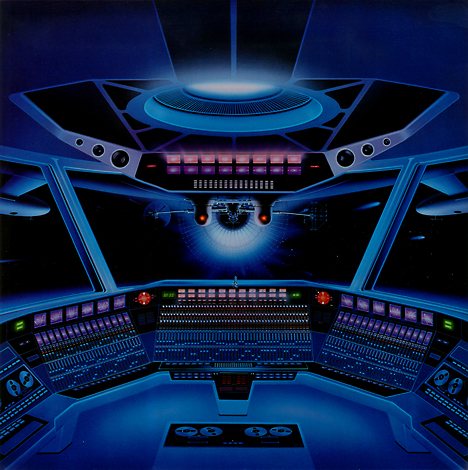 Sci-fi illustration by Shusei Nagaoka --