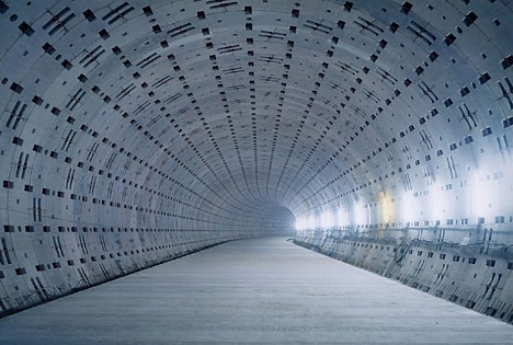 Tunnel under Tokyo --