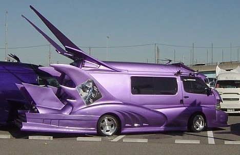 Strange Vehicles : A few more extreme Japanese vans from a variety ...