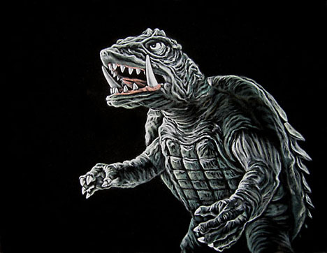 Gamera by Bruce White --
