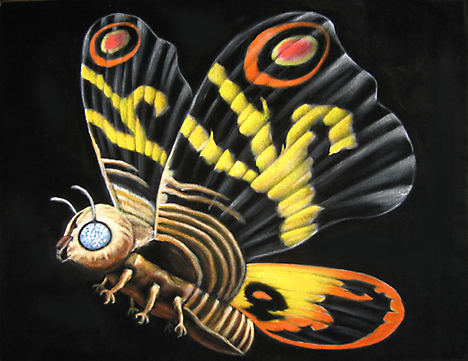 Mothra by Bruce White --