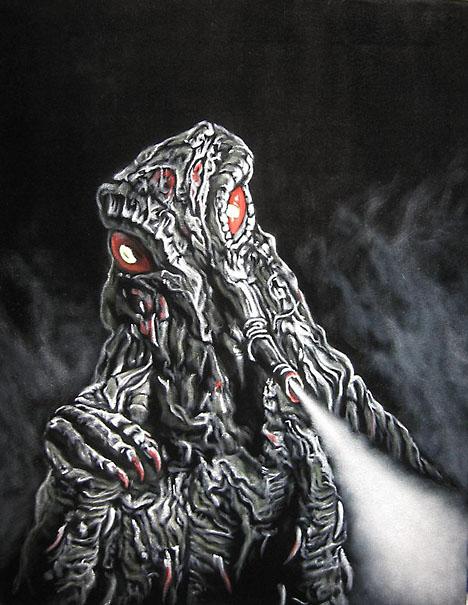Hedorah by Bruce White --
