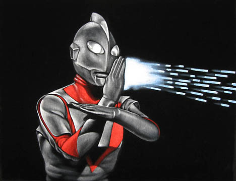 Ultraman by Bruce White --