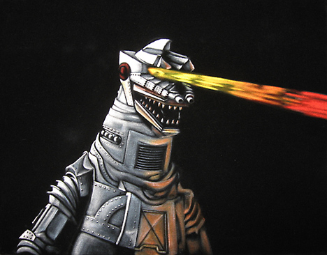 Mechagodzilla by Bruce White --